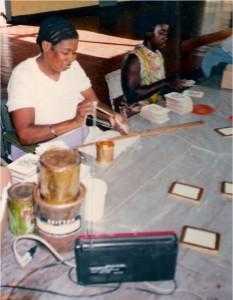 Monex making placemats